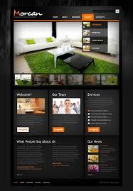 Interior Design PSD Template - Home design website
