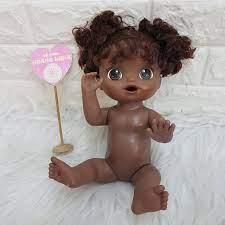 Xã Lỗ} Búp bê Mỹ Hasbro Baby Alive 32 Da Đen chính hãng 149,999đ