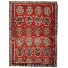 red antique rugs hand woven turkish kilim rug sarkisla carpet rug of anatolia for