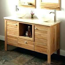 Bamboo Vanity Bathroom Awesome Bathroom Vanities Bamboo Bamboo Bathroom Vanity Double Sink Gorgeous
