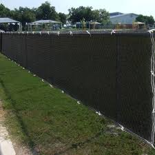 image of chain link fence privacy screen innovative
