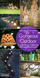 diy outdoor lighting ideas. 17+ Gorgeous And Easy To Duplicate Outdoor Lighting Ideas For Your Garden Or Patio. Diy T