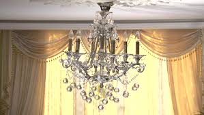 chandelier swinging from shaking buildings high sd shot full hd 1080p