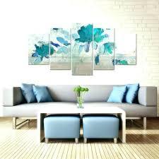 5 piece canvas wall art set sets painted petals iv b five panel 3d multi one five panel wall art lattice uk 5