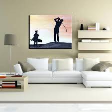golf art fabulous golf wall art sofa ideas and wall