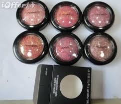 6pcs mac makeup mineralize blush fard joues 3 5g