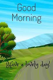 scenery lovely morning day