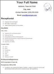 create cv resumes