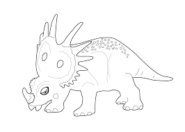 Dinosaur Coloring Page For Kids Printable