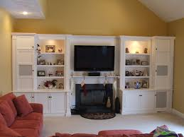 built in entertainment center with fireplace. Built In Entertainment Centers, Fireplace | Custom Painted Center By Stephen Cabitt Company . With L