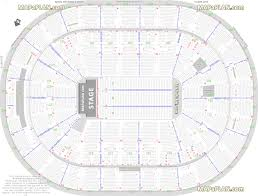 Six Flags St Louis Concert Seating Chart Scottrade Center Detailed Seat Row Numbers End Stage