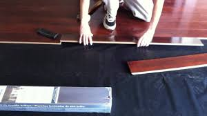 How To Install Armstrong High Gloss Laminate Flooring   YouTube