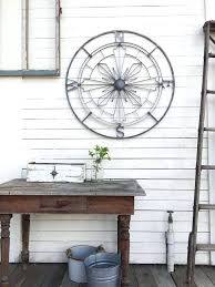 galvanized metal wall art compass wall decor galvanized metal wall pass nautical wall art nautical decor