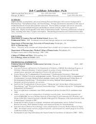 Biology Resume Templ with Biology Cover Letter Pics L