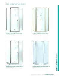 neo shower kit sterling angle shower angle shower door kit framed series sterling angle corner shower