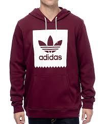 adidas hoodie. adidas blackbird basic fill maroon hoodie i