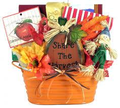pumpkin patch fall gift basket