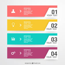 Colorful Shopping Infographic Vector Free Download