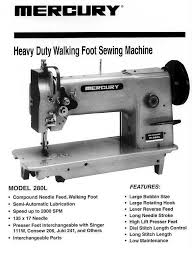 Mercury M 111 Sewing Machine