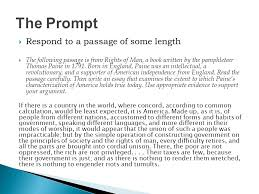 response open argument persuasive essay ppt  3 the