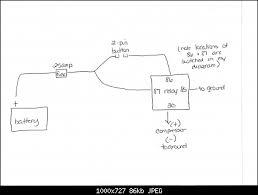 kleinn air horn wiring diagram diagram air horn wiring diagram compressor kleinn air horn installation jeep wrangler forum wiring diagram