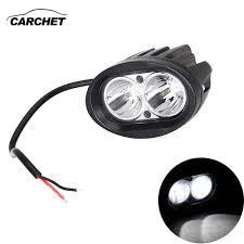 Work Light Replacement Parts Carchet Car Motorcycle High Power Hid 2 Cree Led Chips Spot
