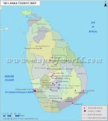 Sri Lanka Travel Map Sri Lanka Tourist Map
