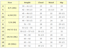 Girl Clothes Size Conversion Chart African Clothing Size Chart African Clothing