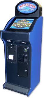 nexus upright touchscreen arcade bar game system
