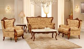 Image of: Victorian Sofa Style Set