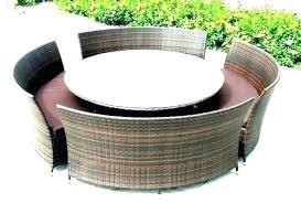 round patio table covers elastic circle patio furniture round large table outdoor chairs and large patio dining sets round outdoor set