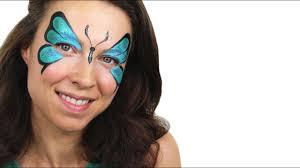 Face Crayon Designs Beginners Butterfly Face Paint Tutorial Snazaroo