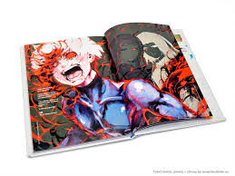 new tokyo ghoul ilrations zakki art book arrives from viz a ic s