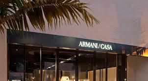 Armani Casa Custom Furniture Stores Miami Design District