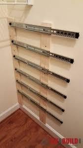 Hidden Gun Coat Rack Modern coat rack w hidden compartment for covert storage of jewelry 97