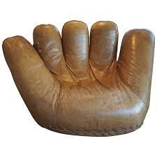 joe baseball glove lounge chair for