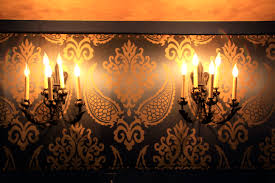 henley lighting. cool wall covering and lighting in lounge henley