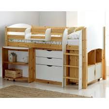 cabin bed with storage.  Storage Scallywag Kids Contour Cabin Bed Including 3 Drawer Chest Quad Storage  Unit And Pull Out Inside With