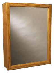 Amazon Com Zenith Swing Door Medicine Cabinet Oak Home