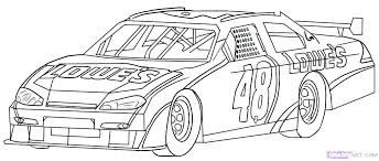 Cool Race Car Coloring Sheets Race Car Color Page Interesting Idea
