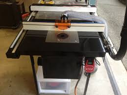 bench dog router table. i started with the bench dog promax, which is specifically built to add a router table