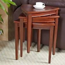 nest of tables wooden tables in jaipur mumbai india