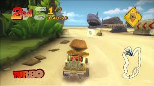 Small Picture Madagascar Kartz PlayStation 3 Gameplay Shark Beach YouTube