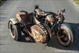 Je Libo Potetovanou Motorku The Recidivist Motorkářicz