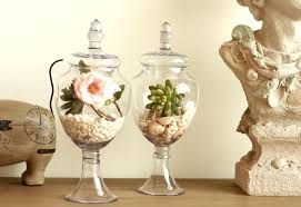 Decorative Jars And Vases Candy Vases For Sale American Retro Transparent Tall Glass Vase 6