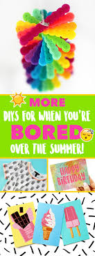 today i have another big diy for you guys even more crafts to do over the summer when you re bored this is a follow up to my from a