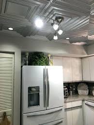 ceiling tiles used as backsplash vintage look tin ce old
