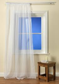 white tape top voile panel