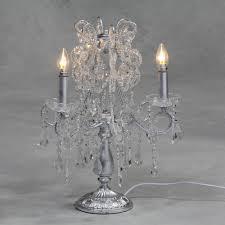 ch100 antique silver leaf table chandelier 50x45x45cm