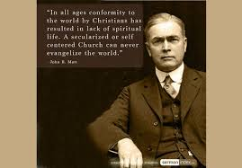 World Quotes Cool John R Mott Quote 48 Sermon Index